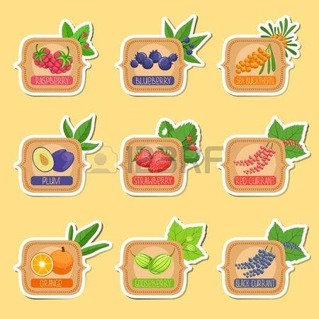 Fruits Of The Forest Jam Images & Stock Pictures. Royalty Free.
