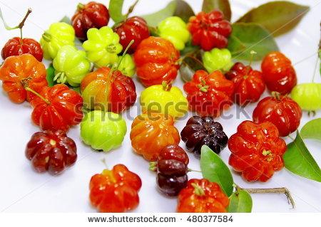 Brazilian Fruit Stock Photos, Royalty.