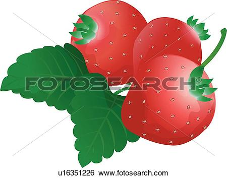 Clip Art of plant, icons, Detail icon, fruits, fruit, plants, icon.