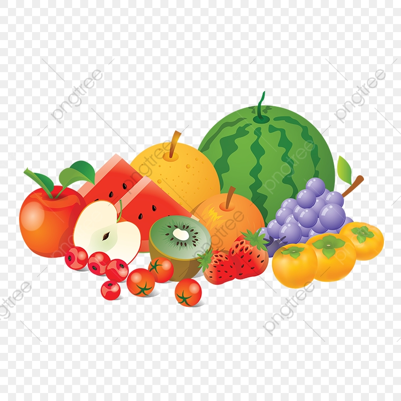 Fruit Collection Vector Png Fruits Element, Fruit Collection, Fruit.