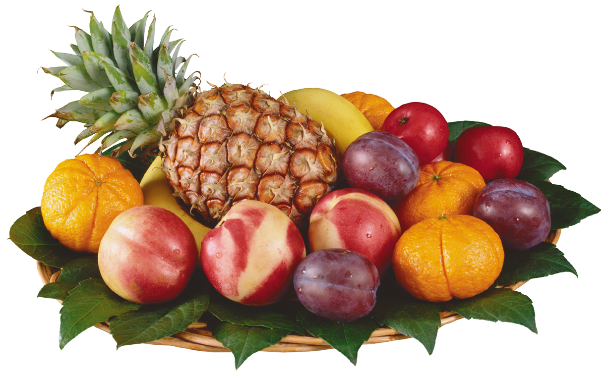 Mixed Fruits in Bowl PNG Clipart.