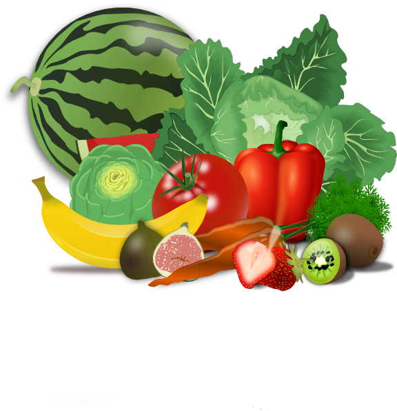 Fruits, Veggies, Healthy Clip Art at Clker.com.