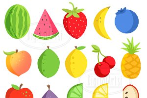 Watermelon clip art Photos, Graphics, Fonts, Themes, Templates.