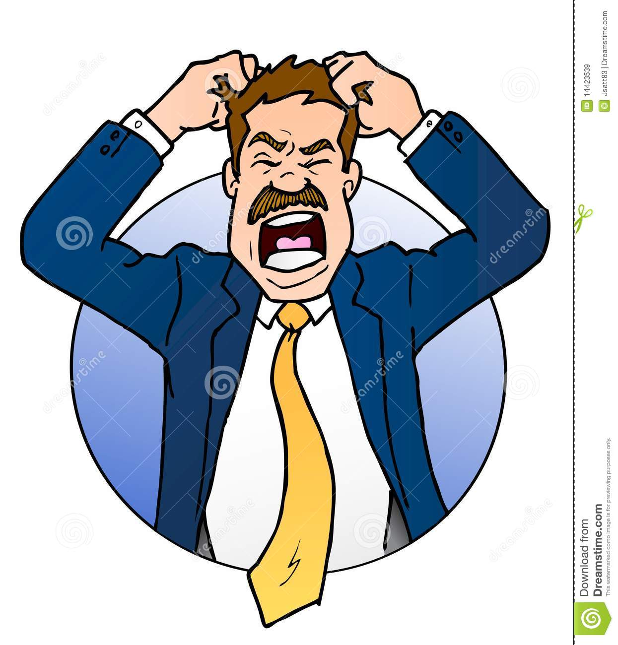 Frustrated Stock Illustrations.
