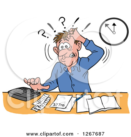 Frustrated Clip Art Free.