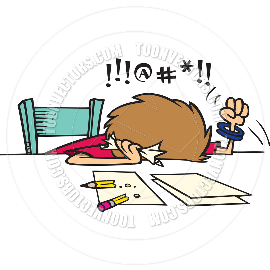 Person Doing Homework Clipart Clipground
