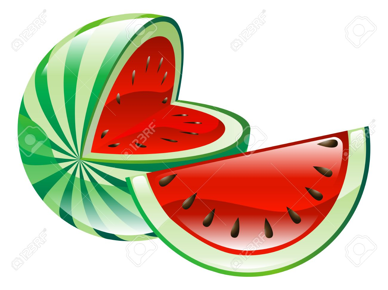Clipart Watermelon Stock Photos Images. Royalty Free Clipart.