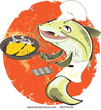 Fish Fry Stock Images, Royalty.
