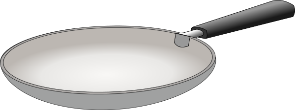 Free Frying Pan Clipart, 1 page of Public Domain Clip Art.