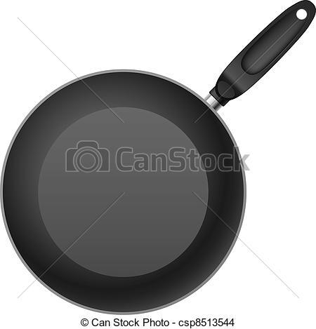 Frying pans clipart #4
