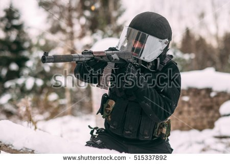 Russian Spetsnaz Clipart.