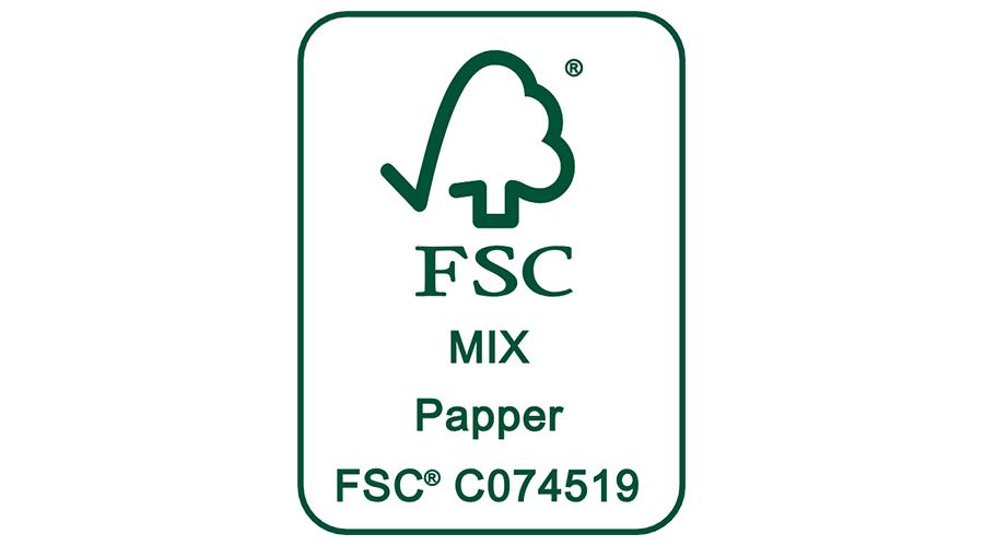 FSC MIX Papper C074519 Vector Logo.