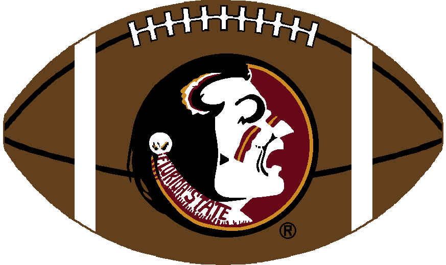 Florida State Football Clipart.