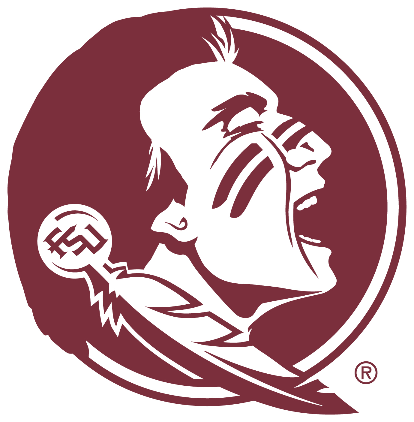 Fsu seminole logo clipart clipart images gallery for free.