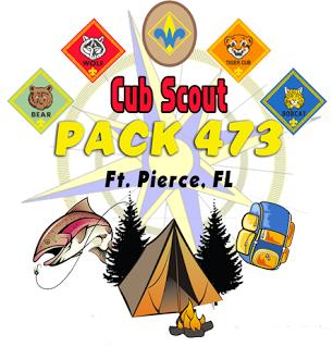 Cub Scout Pack 473, Ft. Pierce FL.