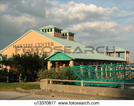 Picture of Fort Pierce, FL, Florida, Indian River, Manatee Center.