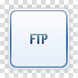 Light Icons, text_ftp, FTP logo transparent background PNG.