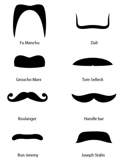 i like the fu manchu. not that i would date a guy with that on his.
