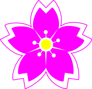 Fuschia Flowers Clipart.
