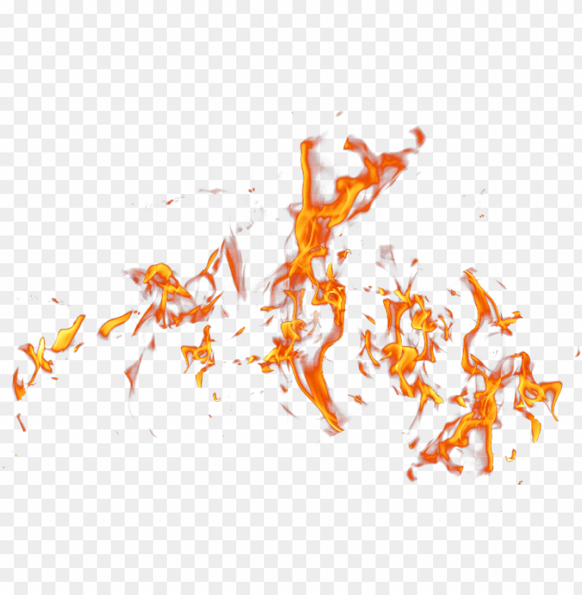 fire effect free png image.