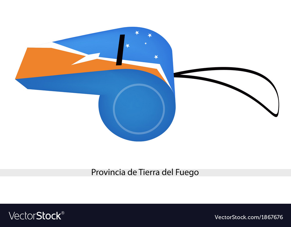 A Whistle of Provincia de Tierra del Fuego.
