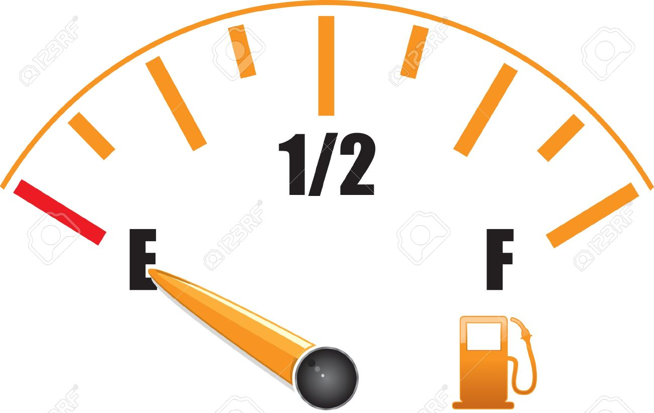 A Fuel Gauge With Symbol Royalty Free Cliparts, Vectors, And Stock.