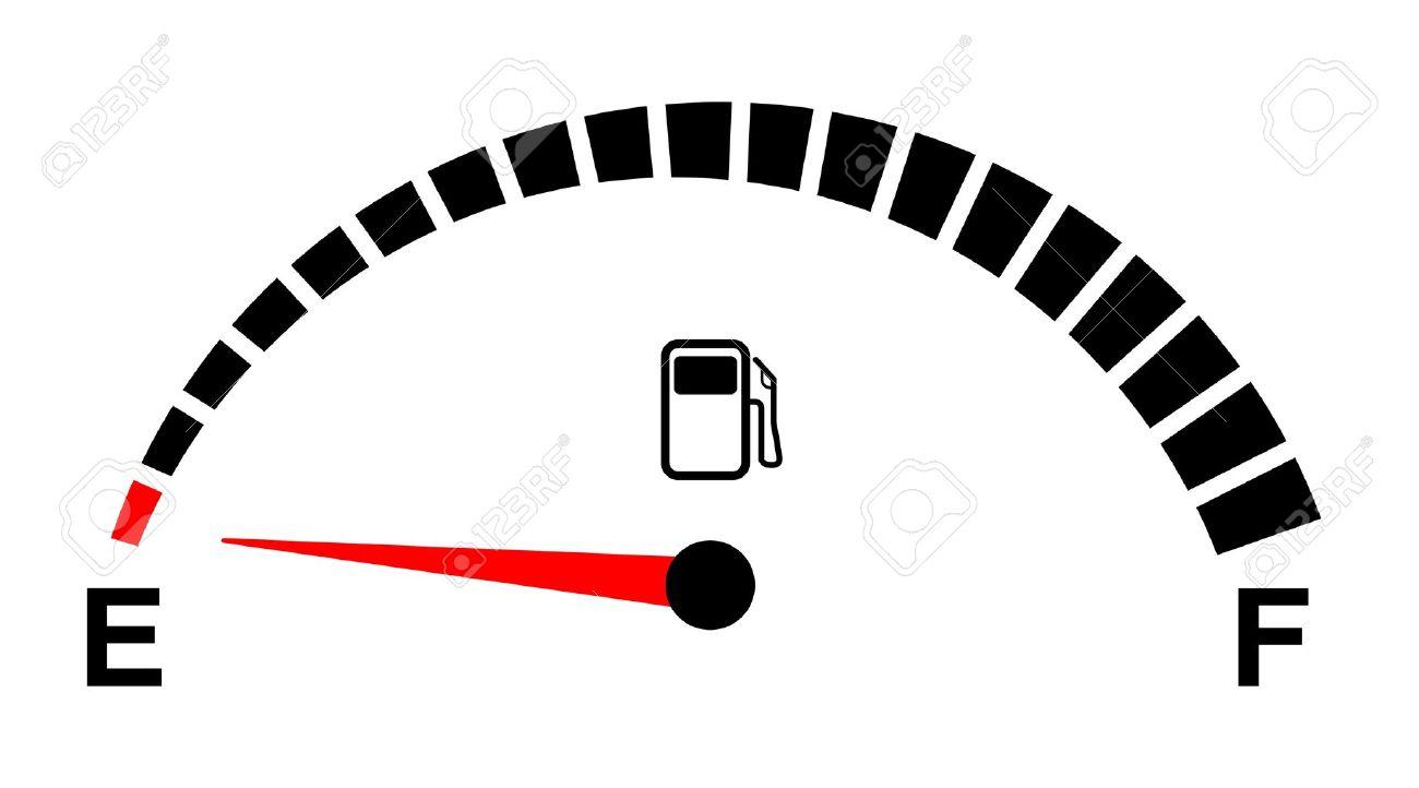Free fuel gauge clipart.