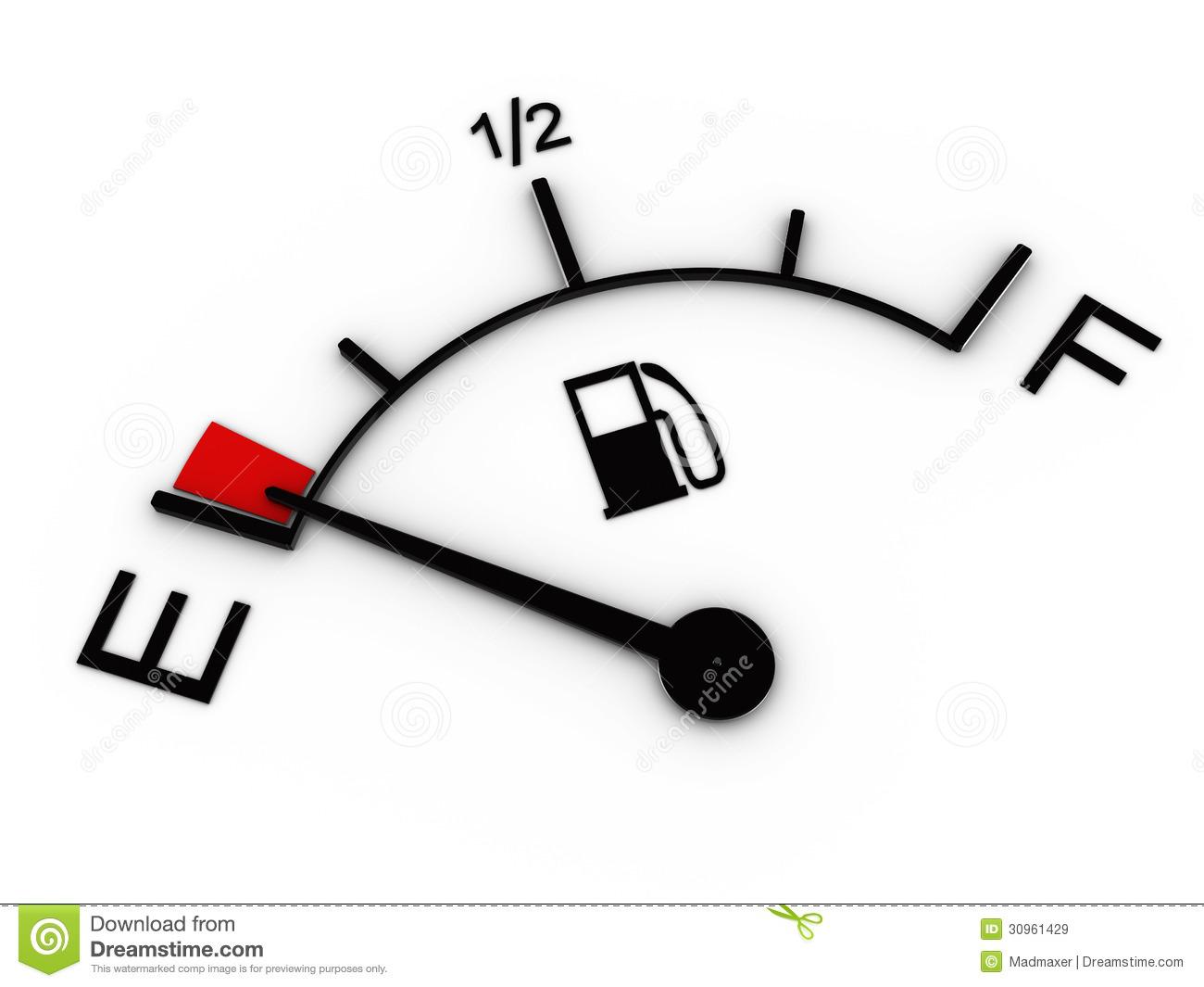 Fuel Gauge Clipart.