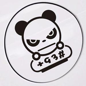 Panda Including +92 93 95 97 Fuel Tank Cap Random Body Wall Decals.