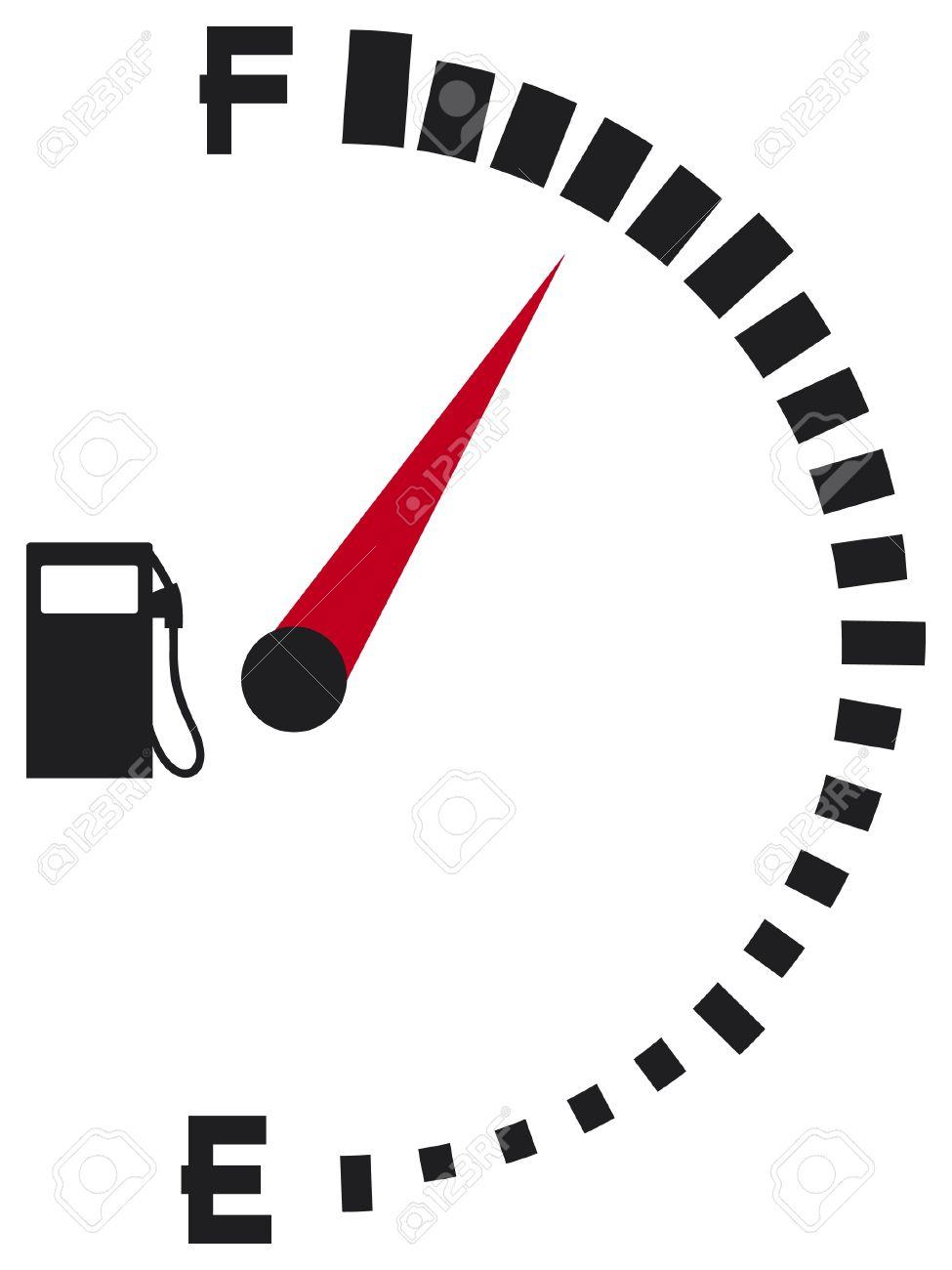 Showing post & media for Symbol for car fuel gauge.