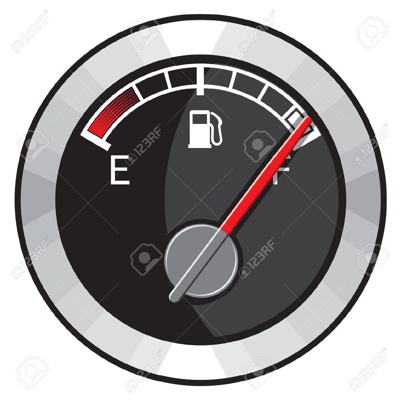 Full Gas Tank Royalty Free Cliparts, Vectors, And Stock.