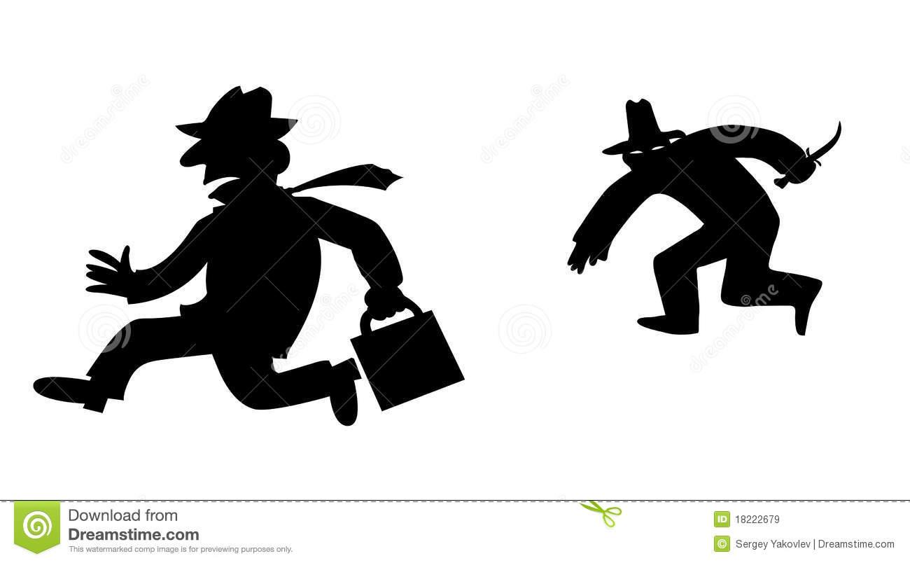 Fugitive Stock Illustrations.