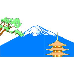 Fuji clipart.