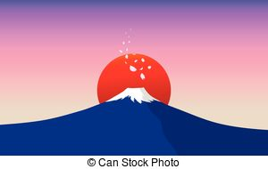 Fuji san Vector Clip Art Illustrations. 29 Fuji san clipart EPS.
