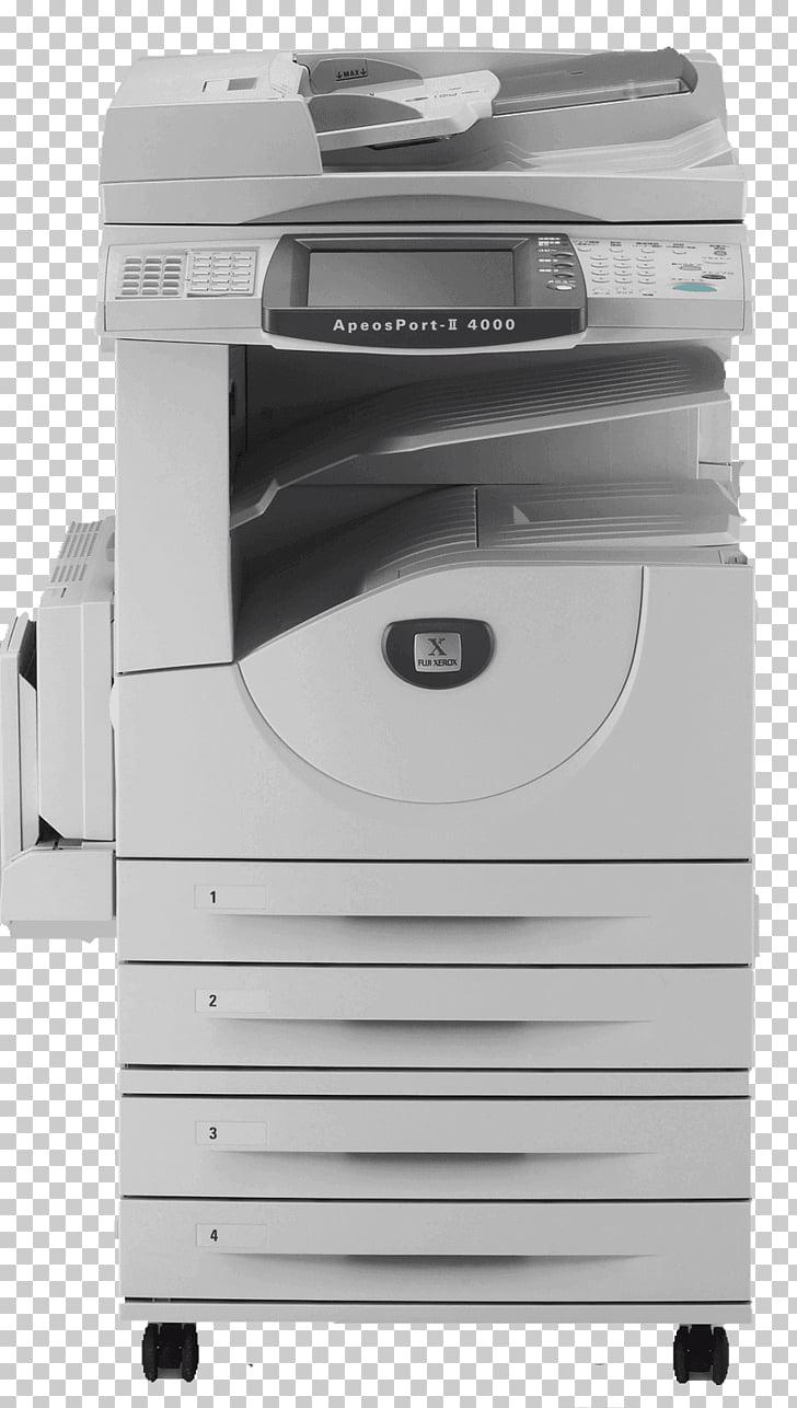 Apeos Photocopier Fuji Xerox scanner, printer PNG clipart.