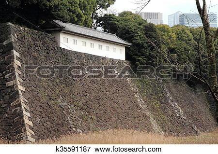 Picture of Fujimi defense house of Edo castle k35591187.