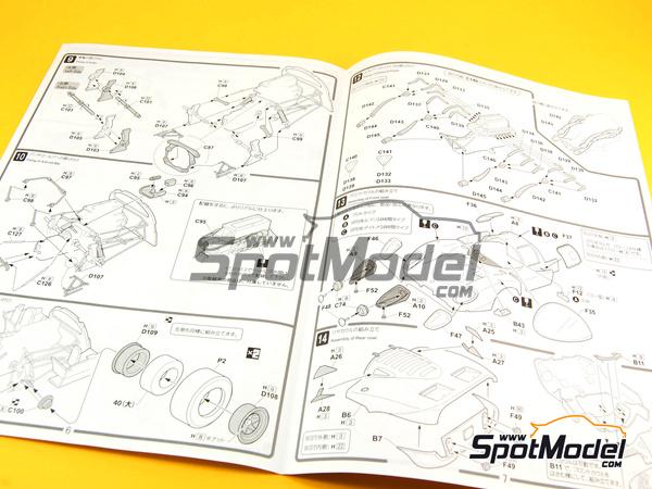Fujimi: Model car kit 1/24 scale.
