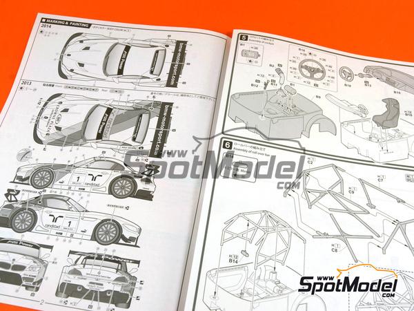 Fujimi: Model kit 1/24 scale.