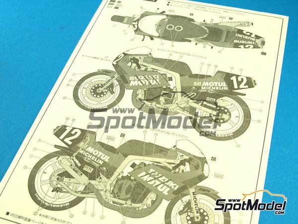 Fujimi: Model bike kit 1/12 scale.
