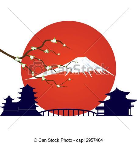 Fujiyama Clip Art and Stock Illustrations. 173 Fujiyama EPS.