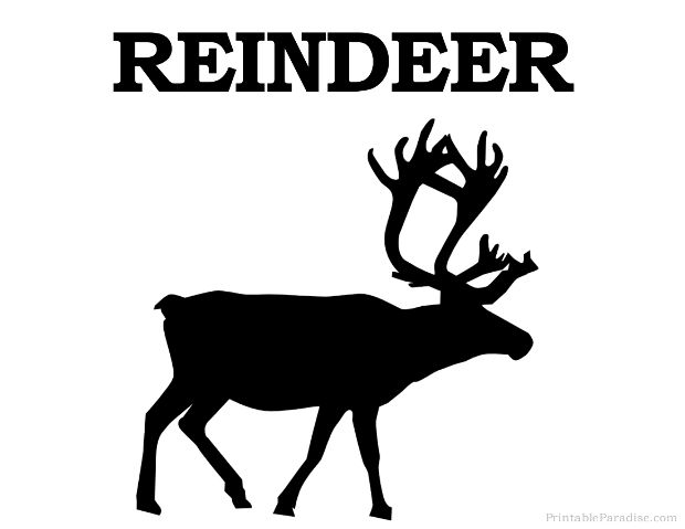 17 best ideas about Reindeer Silhouette on Pinterest.