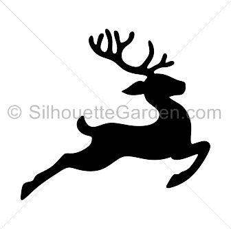 17 best ideas about Reindeer Silhouette on Pinterest.