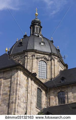 "Stock Photo of ""St. Salvator Cathedral of Fulda, Fulda Cathedral."