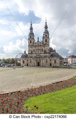 Stock Image of The Dome of Fulda.