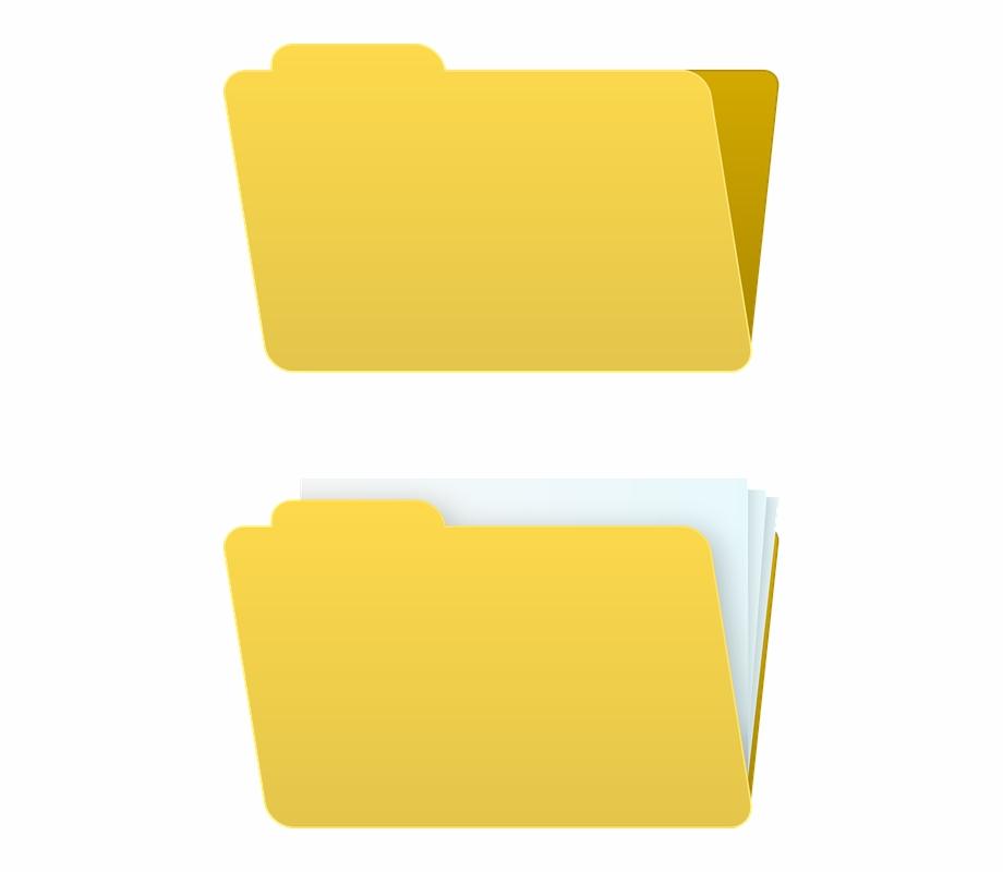 Folder Map Icon Document Office Full Empty Folder.