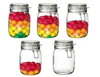 Measurement With Bubble Gum In A Jar: (Clip Art).