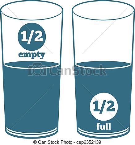 Glass half full Illustrations and Clipart. 495 Glass half full.