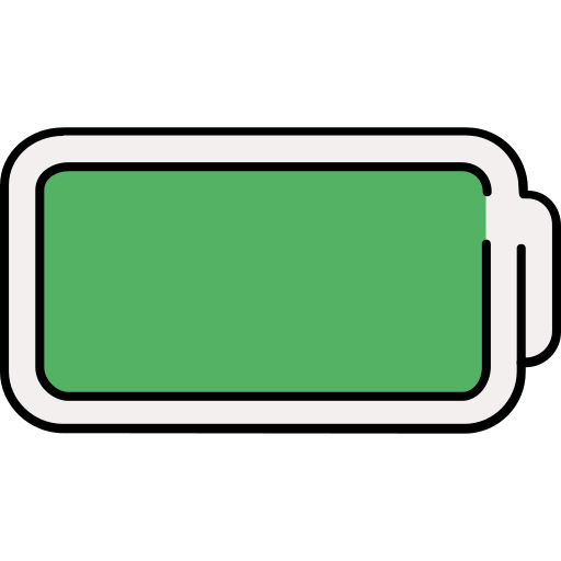 Battery Full Battery PNG Icon.