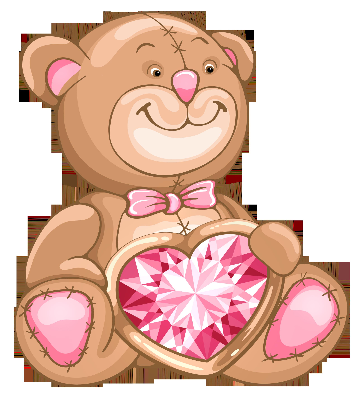 Cute bear clipart png.