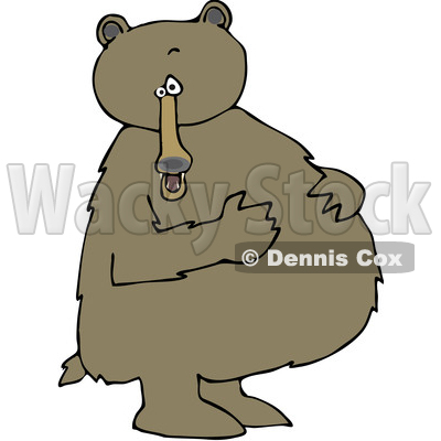 Bear Clipart by Dennis Cox.